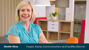 Ginette Kilroy - Brand, People, Communications and Facilities Director