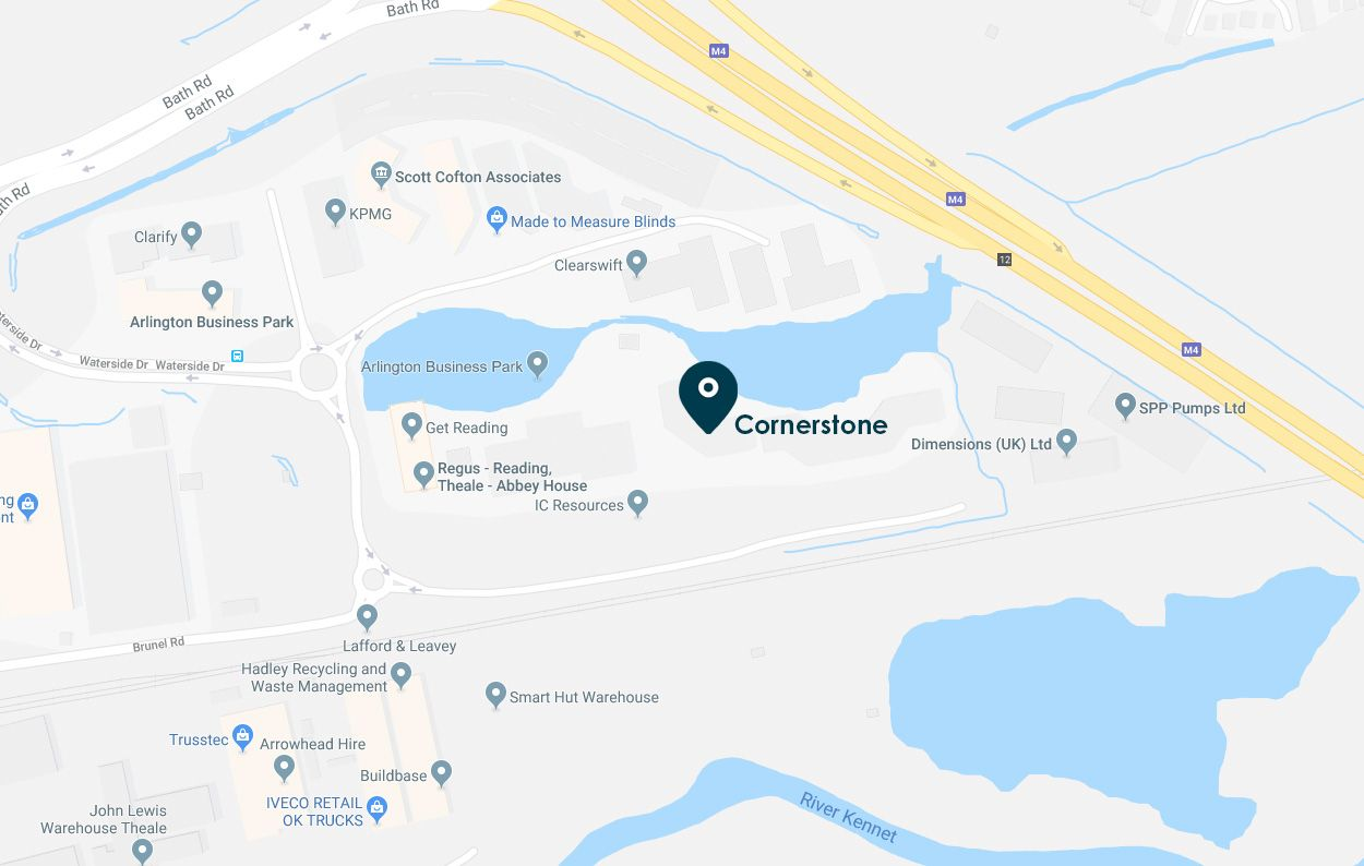 contact us cornerstone map location