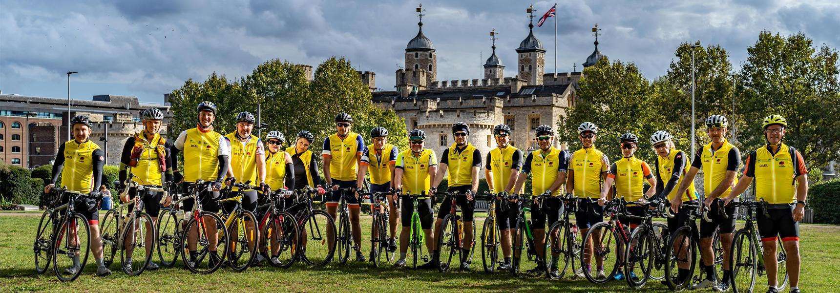 TT24 Charity Cycle from London to Paris
