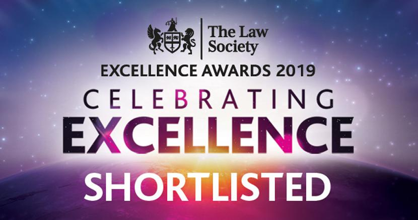 Cornerstone shortlisted for prestigious legal awards